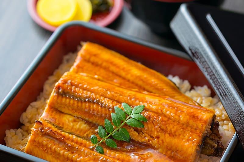 うなぎ定食(お吸い物付)¥2,260(税込¥2,480)