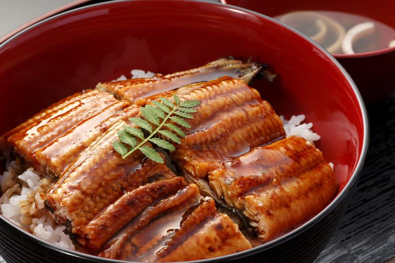 うな丼(お吸い物付) ¥1,350(税込¥1,480)