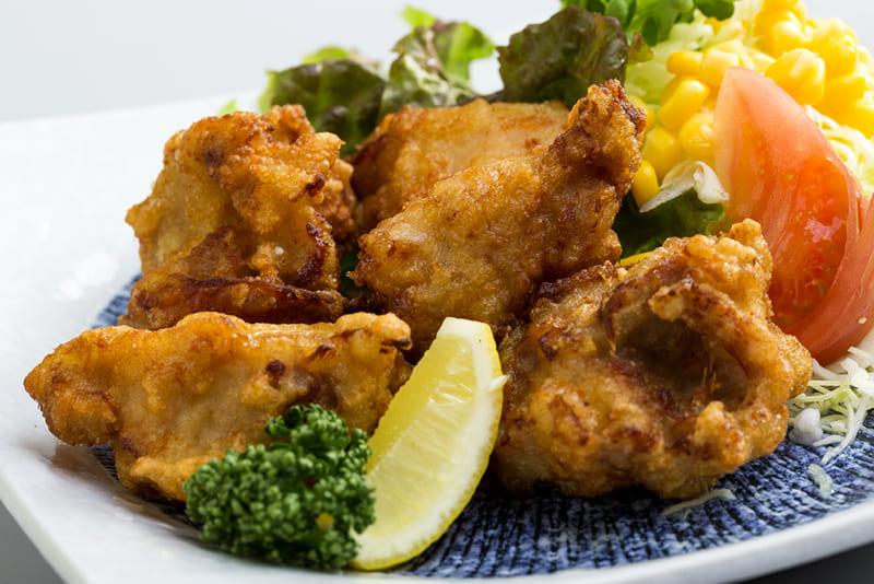 大阿蘇鶏の唐揚げ ¥600(税込¥660)