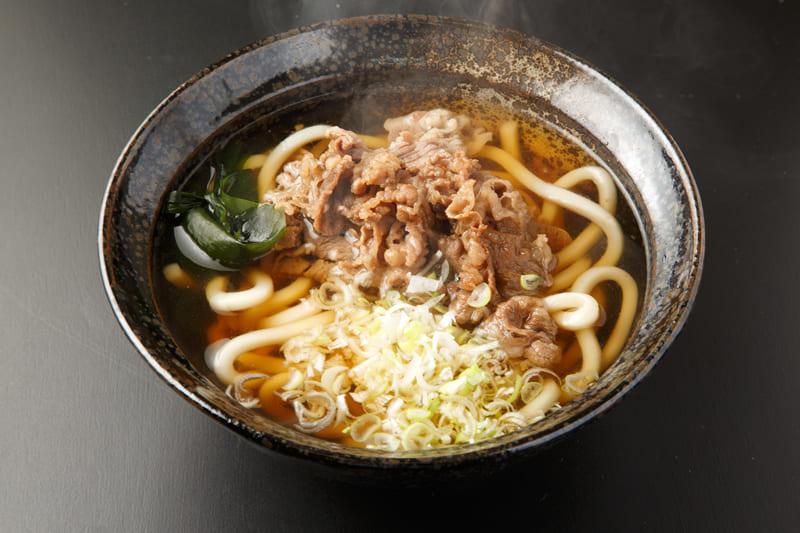 肉うどん ¥600(税込¥660)