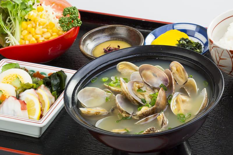 貝汁定食 ¥730(税込¥800)